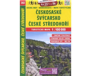 CT100 202 Ceskosaske Svycarsko, Ceske Stredohori
