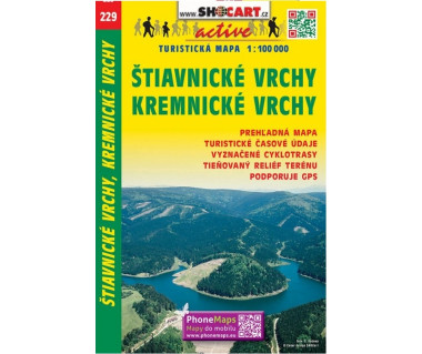 CT100 229 Stiavnicke Vrchy, Kremnicke Vrchy