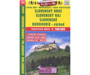 CT100 233 Slovensky Kras, Slovensky Raj, Slovenske Rudohorie