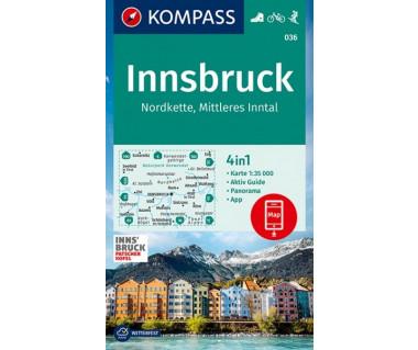 K 036 Innsbruck, Nordkette, Mittleres Inntal