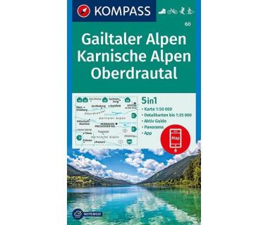 K 60 Gailtaler Alpen, Karnische Alpen, Oberdrautal
