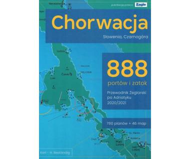 Chorwacja, Słowenia, Czarnogóra 888 portów i zatok