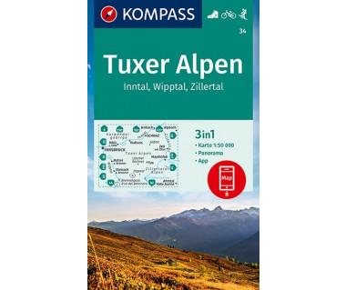 K 34 Tuxer Alpen