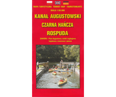 Kanał Augustowski, Czarna Hańcza, Rospuda