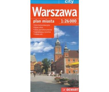 Warszawa - plan miasta