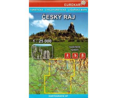 Český ráj/Czeski Raj mapa turystyczna