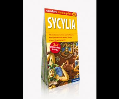 Sycylia 2 w 1 (mapa+przewodnik)