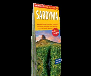 Sardynia 2 w 1 (mapa+przewodnik)