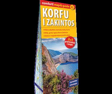 Korfu i Zakinthos (mapa+miniprzewodnik)