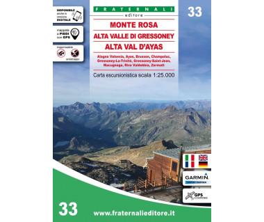 33 Monte Rosa, Alta Valle di Gressoney, Alta Val d'Ayas