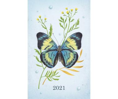 Kalendarz książkowy Motyle 2021