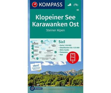 K 65 Klopeiner See, Karawanken Ost