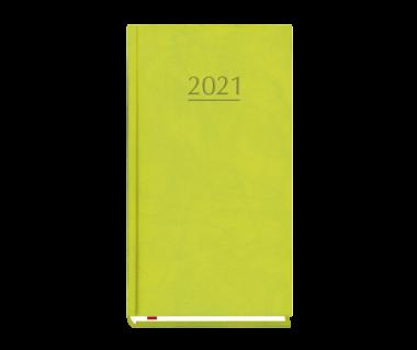Terminarz kieszonkowy 2021 - zielony