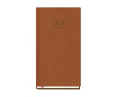 Terminarz kieszonkowy 2021 - brąz