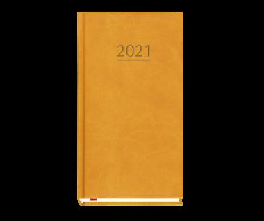Terminarz kieszonkowy 2021 - pomarańczowy
