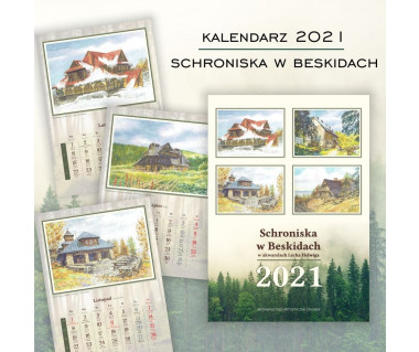 Kalendarz Schroniska w Beskidach 2021