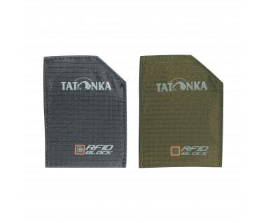 Etui na karty Sleeve RFID (2 pack) k:czarny + oliwka