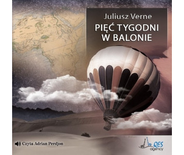 Pięć tygodni w balonie (audiobook)