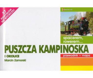 Puszcza Kampinoska i okolice przewodnik + mapa