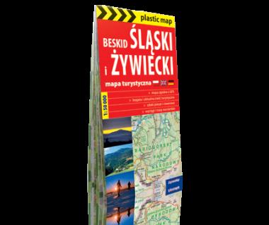 Beskid Śląski i Żywiecki mapa foliowana