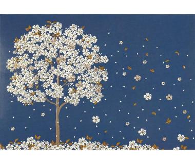 Kartka mini Falling Blossoms