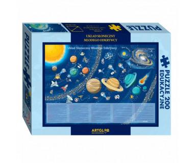 Puzzle 200 Układ Słoneczny Młodego Odkrywcy