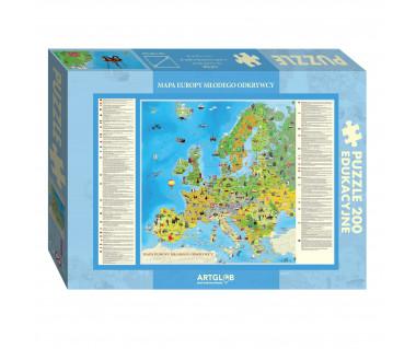 Puzzle 200 Europa Młodego Odkrywcy