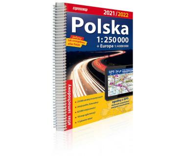 Polska atlas samochodowy (+Europa 1:4 mln)