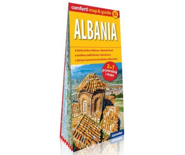 Albania (mapa+miniprzewodnik)