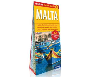 Malta (mapa+miniprzewodnik)