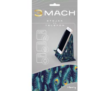3Mach - stojak na telefon - pawie pióra