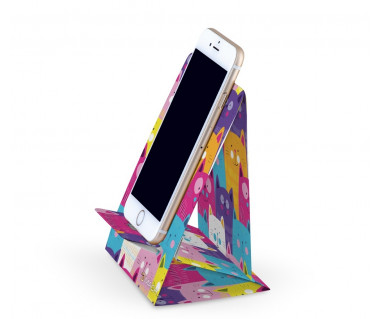 3Mach - stojak na telefon - kolorowe koty