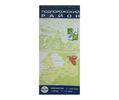 Rejon podporoski oraz plan miasta Podporożje