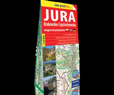 Jura Krakowsko-Częstochowska mapa turystyczna