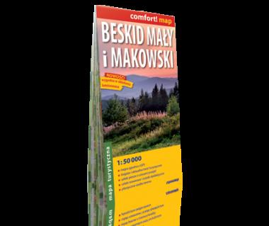 Beskid Mały i Makowski mapa laminowana