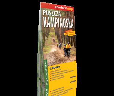 Puszcza Kampinoska mapa laminowana