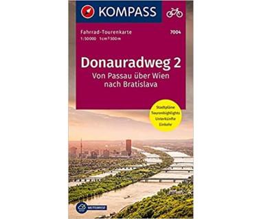 K 7004 Donauradweg (2) Von Passau nach Bratislava