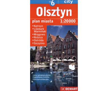 Olsztyn (plus6) Kętrzyn, Nidzica, Lidzbark Warmiński, Ostróda, Szczytno, Mrągowo