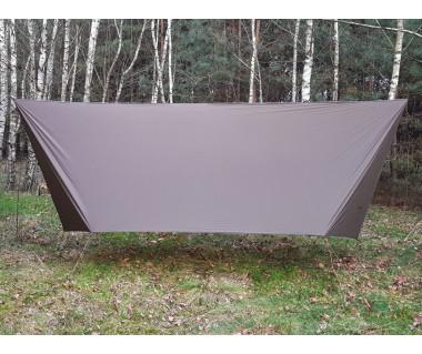 Płachta biwakowa Ultralight Thermo Tarp 4x3 m k:dark olive