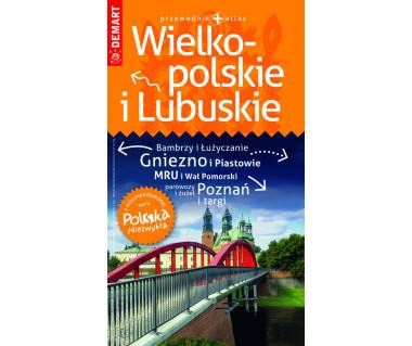 Wielkopolskie i Lubuskie przewodnik + atlas