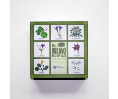 Rośliny Tatr - gra memo