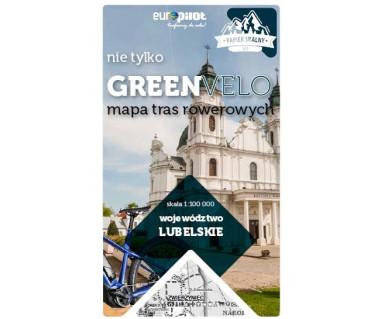 Lubelskie nie tylko Green Velo mapa rowerowa