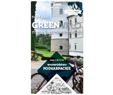 Podkarpackie nie tylko Green Velo mapa rowerowa