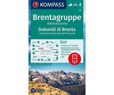 K 73 Brentagruppe / Dolomiti di Brenta