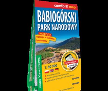Babiogórski Park Narodowy mapa kieszonkowa