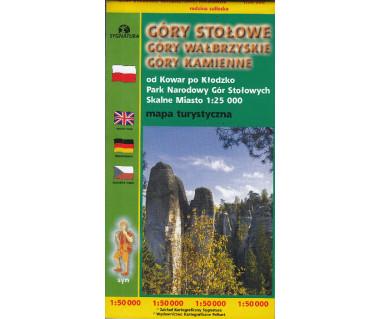 Góry Stołowe, Góry Wałbrzyskie, Góry Kamienne