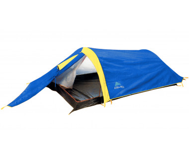 Namiot Pressing II niebieski/żółty