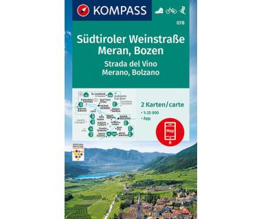 K 078 Sudtiroler Weinstraße, Meran, Bozen