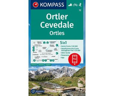 K 72 Ortler/Ortles, Cevedale