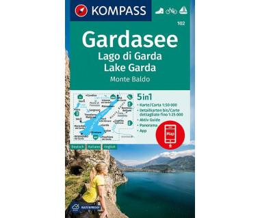 K 102 Gardasee / Lago di Garda / Lake Garda, Monte Baldo